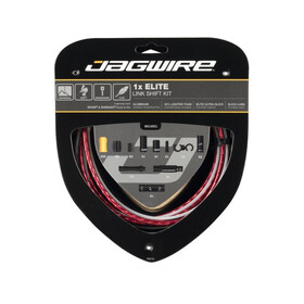 Jagwire 1X Elite Link Set Cavo Del Cambio, red